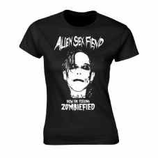 Girls Now I'm Feeling Zombiefied T-shirt